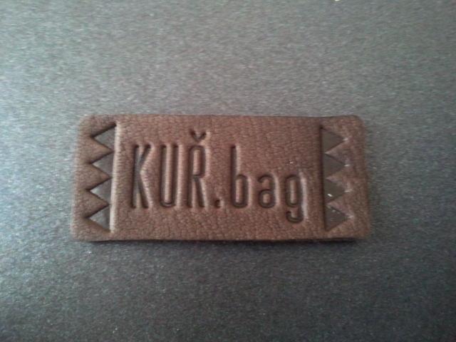 KUŘ. bag